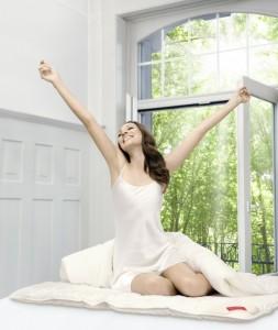 Ausgeschlafen mit der richtigen Sommerdecke glücklich in den Tag starten.